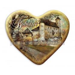 Magnes serce Bobolice - Zamek z bramą