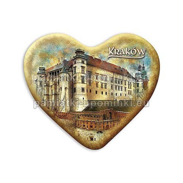 Magnes Wawel serce Zamek