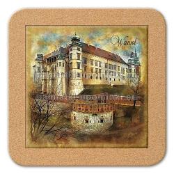 Podstawka ceramiczna Kraków Wawel 11x11