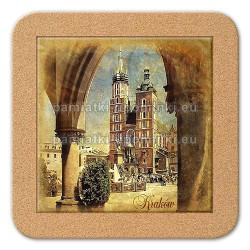 Podstawka ceramiczna Kraków Mariacki 11x11
