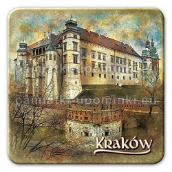 Magnes kwadrat Kraków Zamek Królewski