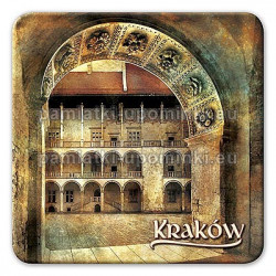 Magnes kwadrat Kraków Dziedziniec