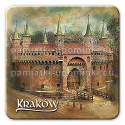 Magnes kwadrat Kraków Barbakan