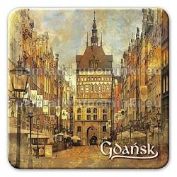Magnes kwadrat Gdańsk Złota Brama