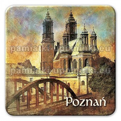 Magnes kwadrat Poznań Katedra