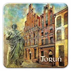 Magnes kwadrat Toruń Kopernik Ratusz