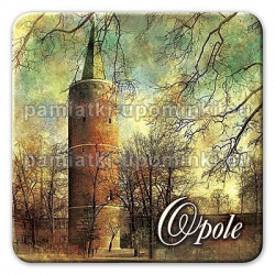 Magnes kwadrat Opole Wieża Piastowska