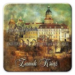 Magnes Zamek Książ widok kwadrat