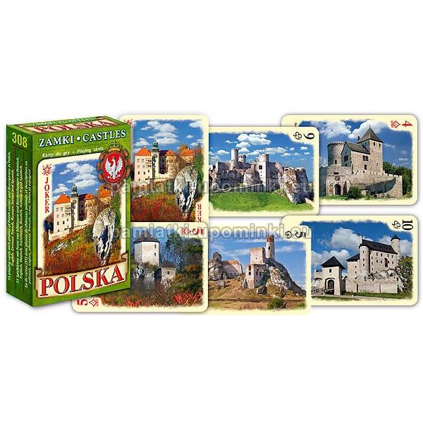 Karty do gry Polskie Zamki