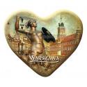 Magnes Warszawa serce - Syrenka