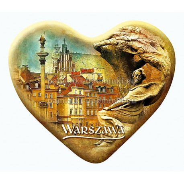 Magnes serce Warszawa Chopin