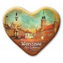 Magnes Warszawa serce - Plac Zamkowy