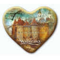 Magnes Warszawa serce - Barbakan