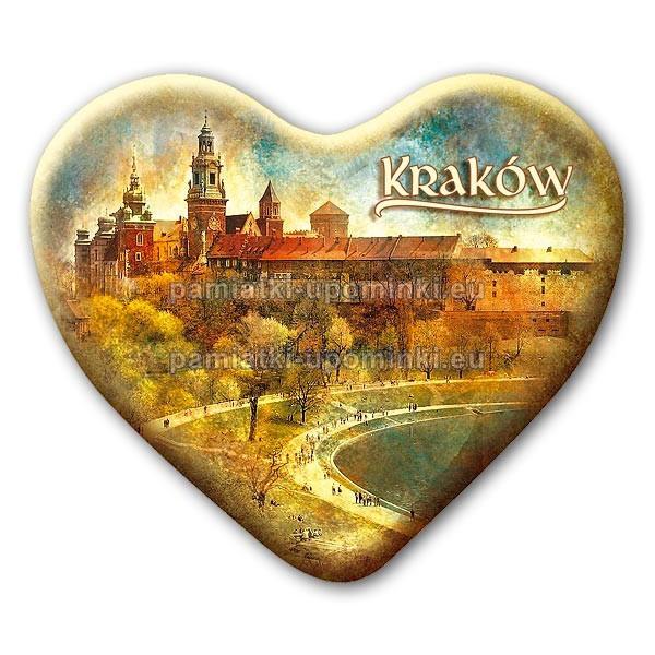 Magnes serce Kraków Wawel