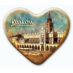Magnes serce Kraków Sukiennice
