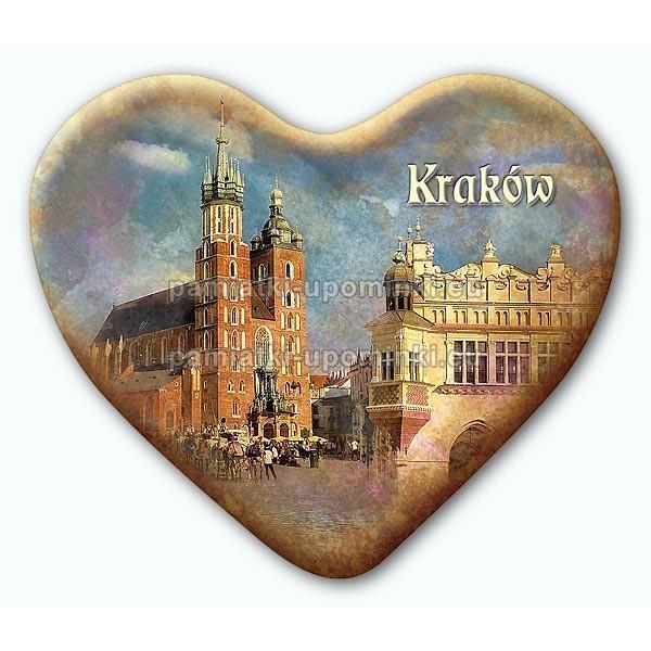 Magnes serce Kraków Kościół Mariacki i Sukiennice