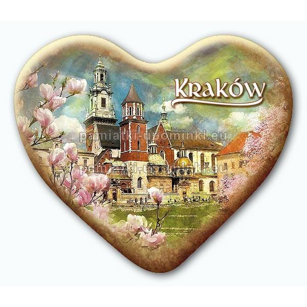 Magnes serce Kraków Wawel Magnolie