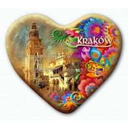 Magnes serce Kraków Ratusz folk