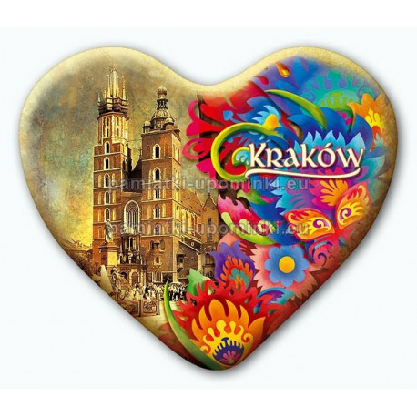 Magnes serce Kraków Kościół Mariacki folk