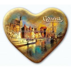 Magnes serce Gdańsk Długie Pobrzeże