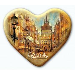 Magnes serce Gdańsk Złota Brama