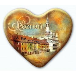 Magnes serce Poznań Ratusz