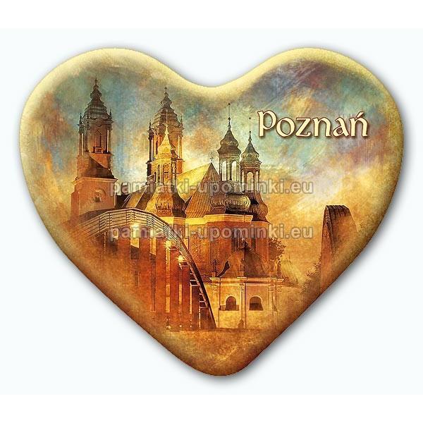Magnes serce Poznań Katedra
