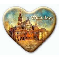 Magnes serce Wrocław Ratusz