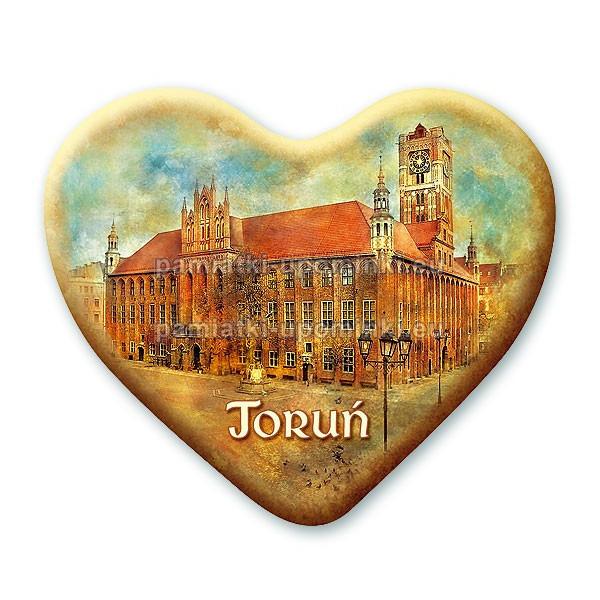 Magnes Toruń serce Ratusz