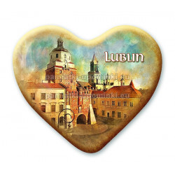 Magnes Lublin serce - Brama Krakowska