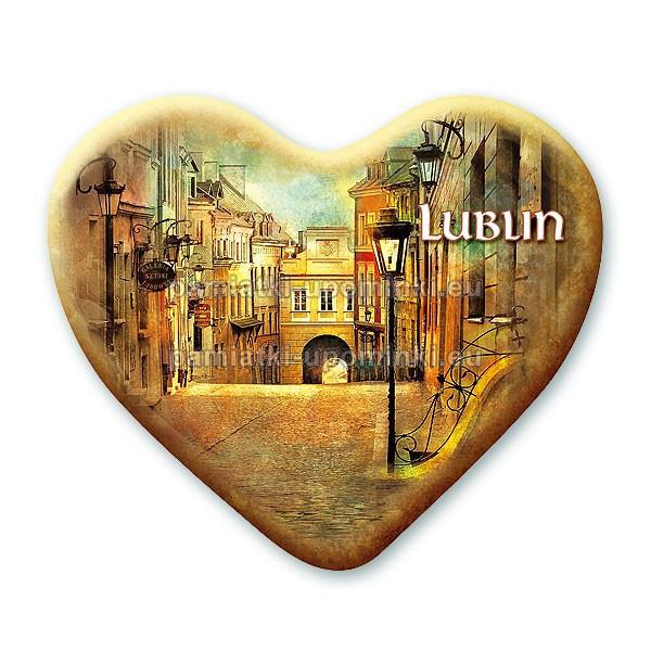 Magnes Lublin serce - Grodzka