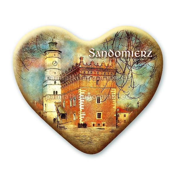 Magnes Sandomierz serce - Ratusz