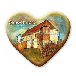 Magnes Sandomierz serce - Zamek