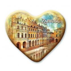 Magnes Zamość serce - Kamienice Ormiańskie