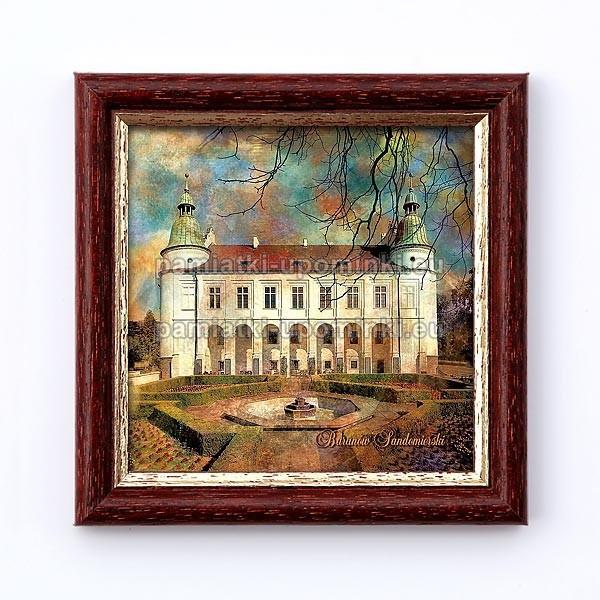 Obrazek Baranów Sandomierski - Zamek od strony ogrodów.
