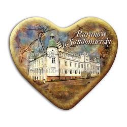 Magnes serce Baranów Sandomierski - Zamek