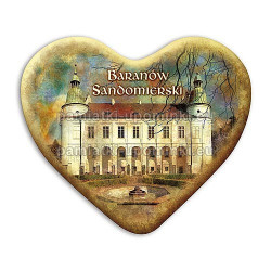 Magnes serce Baranów Sandomierski - Zamek od strony ogrodu