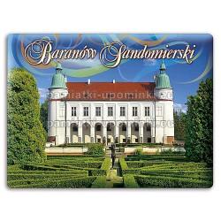 Magnes Baranów Sandomierski - Zamek od strony ogrodu