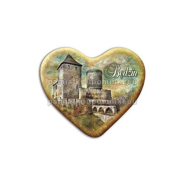 Magnes serce Będzin - Zamek fosa
