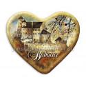 Magnes serce Bobolice - Zamek z murami