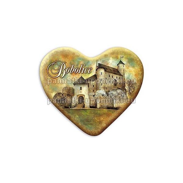 Magnes Bobolice serce Zamek