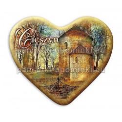 Magnes serce Cieszyn Rotunda