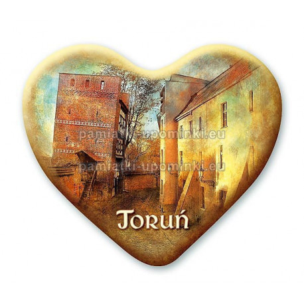 Magnes Toruń serce Krzywa Wieża