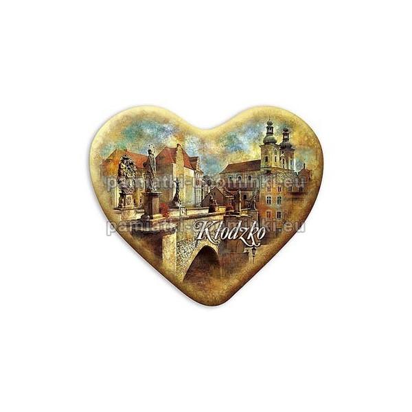 Magnes serce Kłodzko Most św. Jana