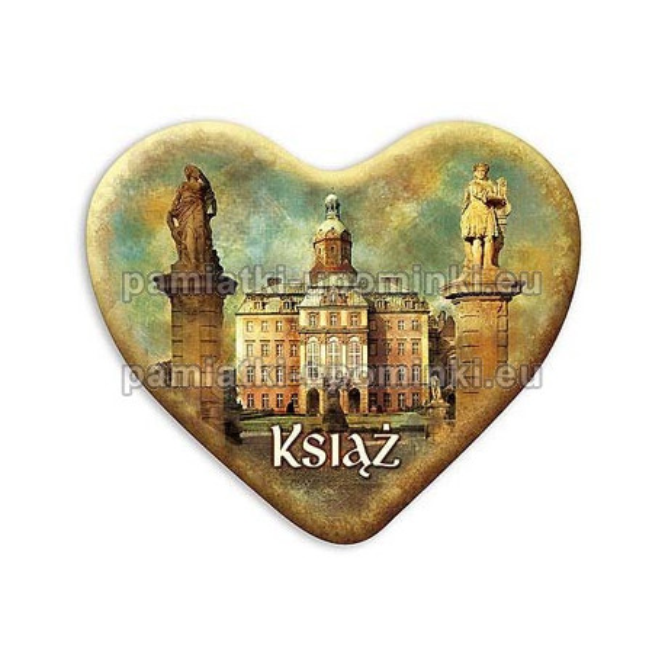 Magnes Zamek Książ serce Dziedziniec