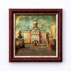 Obrazek Zamek Książ Dziedziniec