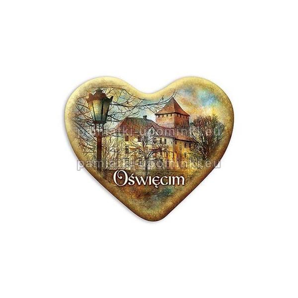 Magnes Oświęcim serce Zamek latarnia