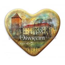 Magnes Oświęcim serce Zamek nad Sołą