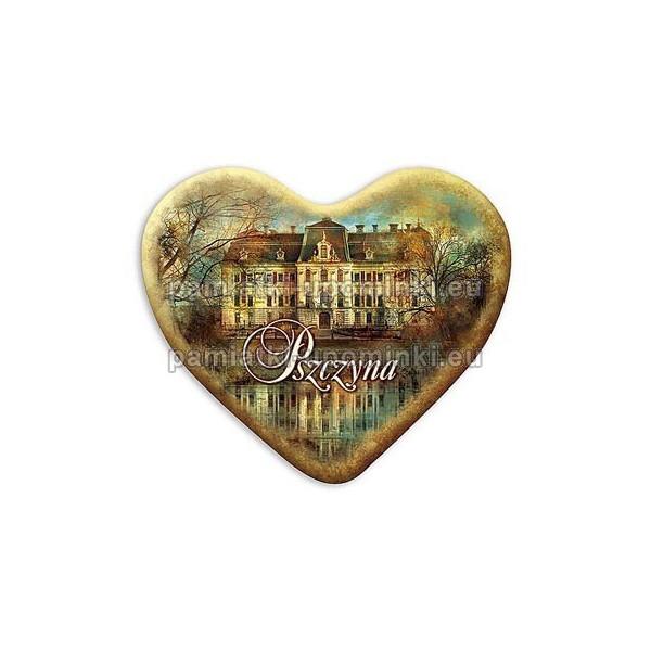 Magnes Pszczyna serce Zamek