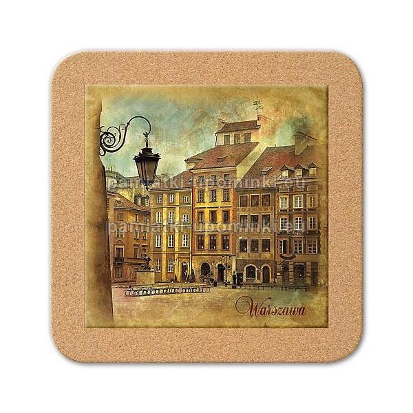 Podstawka ceramiczna Warszawa Rynek 11x11
